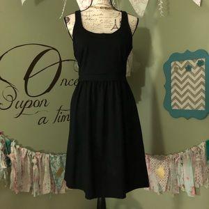 Cynthia Rowley little Blac dress with pockets M